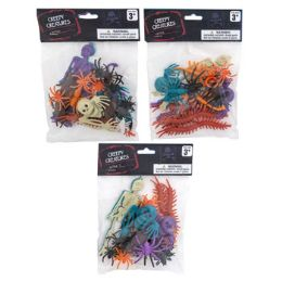 48 Units of Creepy Creatures Multicolor Party Favor - Halloween & Thanksgiving