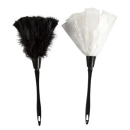 24 Units of Duster Feather French Maid Accessory - Halloween & Thanksgiving