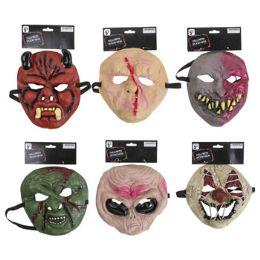 24 Units of Mask Halloween Spooky - Halloween & Thanksgiving