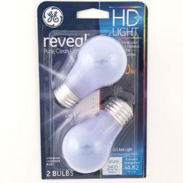 4 Units of Light Bulb Ge Reveal Hd Light Med Base - Lightbulbs