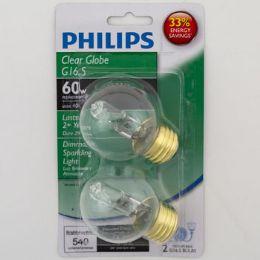 6 Units of Light Bulb Philips Halogen Med Base Carded - Lightbulbs