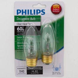 6 Units of Light Bulb Philips Deco Med Base Carded - Lightbulbs