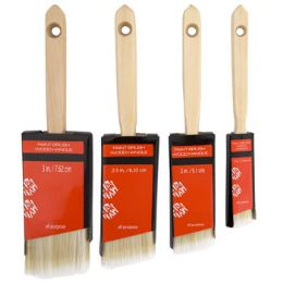 48 Units of Paint Brush Wood Handle - Paint and Supplies