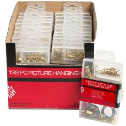 48 Units of Picture Hanging Kit - Hardware Miscellaneous