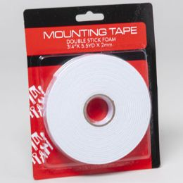 72 Units of Tape Foam Double Stick Mounting - Hardware Miscellaneous