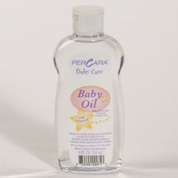 12 Units of Baby Oil 9 Oz Percara - Baby Beauty & Care Items