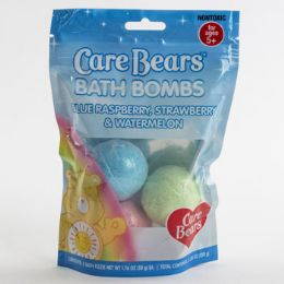 12 Units of Bath Bomb 3 Pack Care Bears - Bath And Body