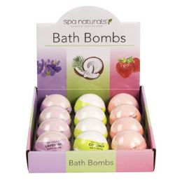 48 Units of Bath Bombs 3strawberry Lavender And Coconut - Bath And Body