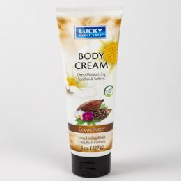 12 Units of Body Cream Cocoa Butter Lucky Brand - Bath And Body