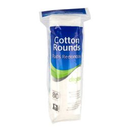 24 Units of Cotton Rounds - Cotton Balls & Swabs