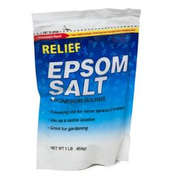 12 Units of Epsom Salt Magnesium Sulfate Resealable Bag - Bath And Body