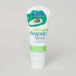 24 Units of Facial Scrub Avocado Tube Extra Care - Bath And Body
