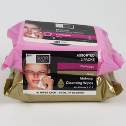 24 Units of Facial Wipes Collagen And Gold - Bath And Body