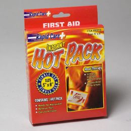 24 Units of Hot Pack 5x6 Single Use First Aid - First Aid and Bandages
