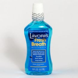 12 Units of Lavoris Peppermint Mouthwash - Toothbrushes and Toothpaste