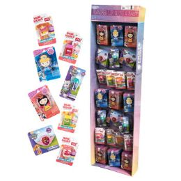 118 Units of Lip Balm Flavored Childrens Assorted Licensed 118 Count Power Panel - Bath And Body