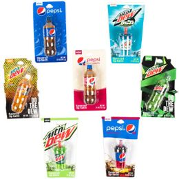 63 Units of Lip Balm Pepsi Products Flavored 7 Assorted Half Power Panel - Bath And Body