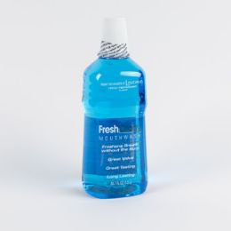 6 Units of Mouthwash Peppermint Freshology Blue - Toothbrushes and Toothpaste