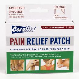 24 Units of Pain Relief Patch - Medical Supply