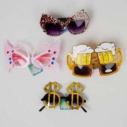 60 Units of Party Glasses Bulk - Novelty & Party Sunglasses