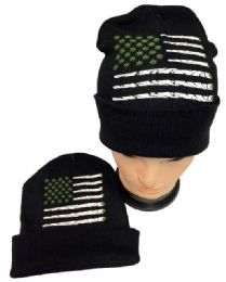 36 Units of Marijuana Flag Winter Beanie Hat - Winter Beanie Hats