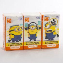24 Units of Pocket Tissue Minions - Tissues