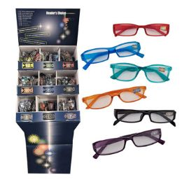 288 Units of Reader Glasses 9 Assorted Powers Metal Plastic Frames - Reading Glasses