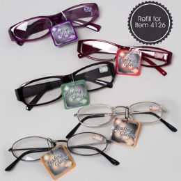 144 Units of Reading Glasses 9 Asst Powers Special Order - Reading Glasses