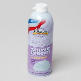 12 Units of Shave Cream Sensitive Womens Chases Smooth Track - Shaving Razors