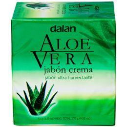 24 Units of Soap 3 Pack Bar Aloe Vera - Soap & Body Wash