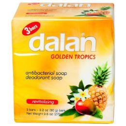 24 Units of Soap 3 Pack Bar Golden Tropics - Soap & Body Wash