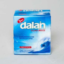 24 Units of Soap 3 Pack Bar Ocean Breeze - Soap & Body Wash
