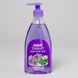 24 Units of Soap Liquid Dalan Therapy Lavendar And Thyme - Soap & Body Wash