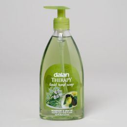 24 Units of Soap Liquid Dalan Therapy Olive Oil And Rosemary - Soap & Body Wash