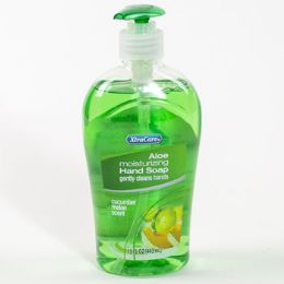 12 Units of Soap Liquid Moisturizing Cucumber Melon - Soap & Body Wash
