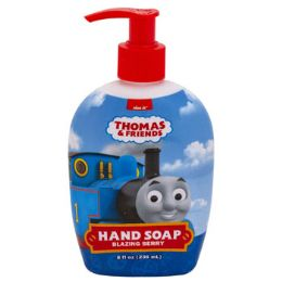 12 Units of Soap Liquid Thomas Train Blazing Berry Scent Pump - Soap & Body Wash