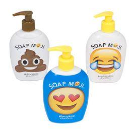 12 Units of Soap Liquid Assorted Emoji - Soap & Body Wash
