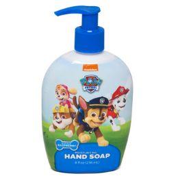 12 Units of Soap Liquid Paw Patrol Pump Raspberry - Soap & Body Wash