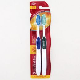 24 Units of Toothbrushes Soft Gentle Clean Carded - Toothbrushes and Toothpaste