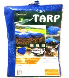 50 Units of 5x7 Tarp Blue Tarp - Tarps