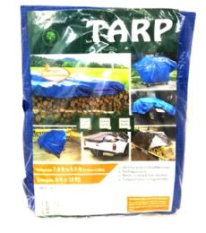 20 Units of 8x10 Blue Tarp - Tarps