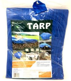 10 Units of 12x16 Blue Tarp - Tarps