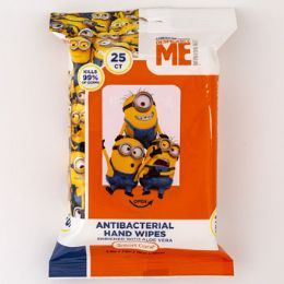 24 Units of Wipes Minions Anti Bacterial - Baby Beauty & Care Items