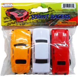"48 Units of 3PC Toy Car 3.25"" SPRINT RACERS - Cars, Planes, Trains & Bikes"
