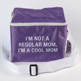 90 Units of Cooler Bag Nylon Insulated Cool Mom Purple - Cooler & Lunch Bags