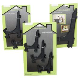48 Units of Easel Black Plastic - Paint and Supplies