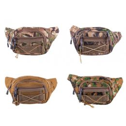 24 Units of Fanny Packs in 4 Assorted Camouflage Color - Fanny Pack
