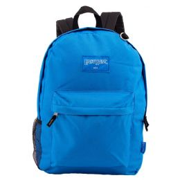 """24 Units of 18"""" Classic Royal Backpacks with Side Mesh Water Bottle Pocket - Backpacks 18"""" or Larger"""