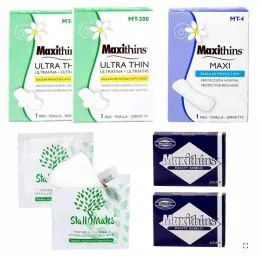 48 Units of 8 Piece Feminine Hygiene Kits - First Aid and Hygiene Gear