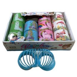 "36 Units of 3"" Magic Spring Toy [llama/mermaid/unicorn/flamingo] - Toys & Games"